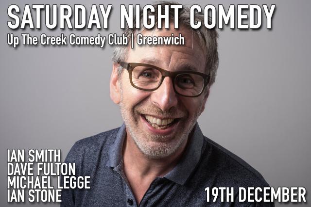 Saturday Night Comedy Sat 19 Dec
