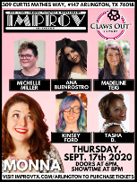 Claws Out Comedy feat MONNA & Friends
