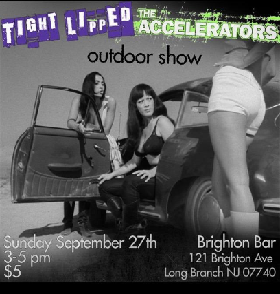 Tight Lipped, The Accelerators tickets (Copyright © Ticketmaster)