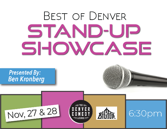 SORRY, THIS EVENT IS NO LONGER ACTIVE<br>Stand-Up Showcase at Denver Comedy Lounge - Denver, CO 80205