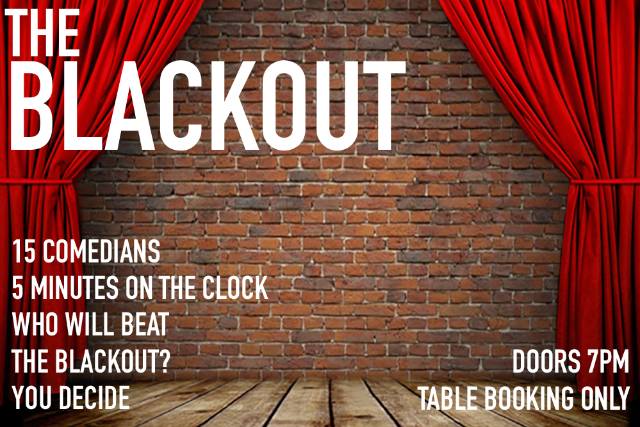 The Blackout Thu 01 Apr