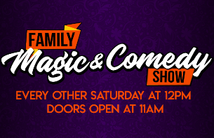 Family Magic & Comedy For All Ages