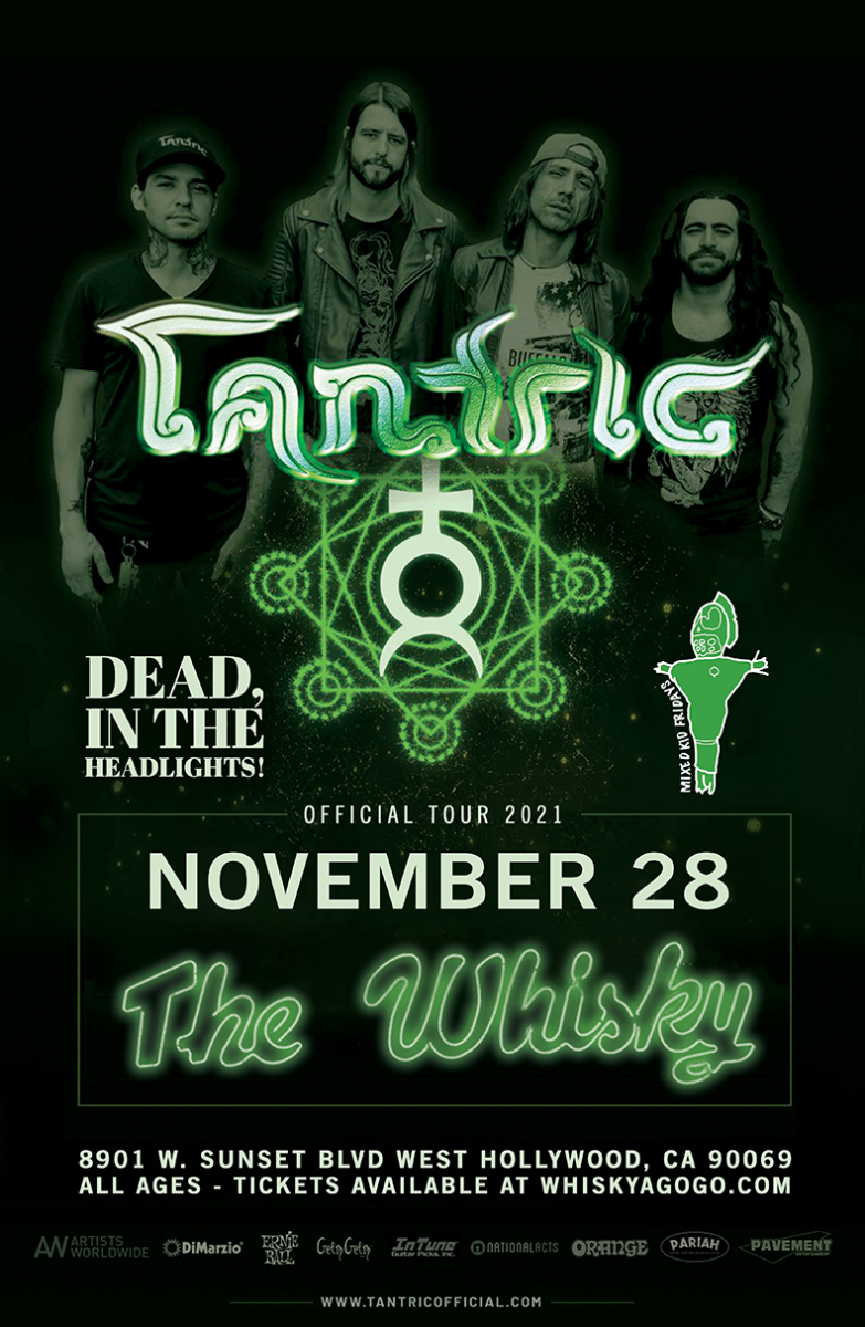 Tantric, Dead,In The Headlights