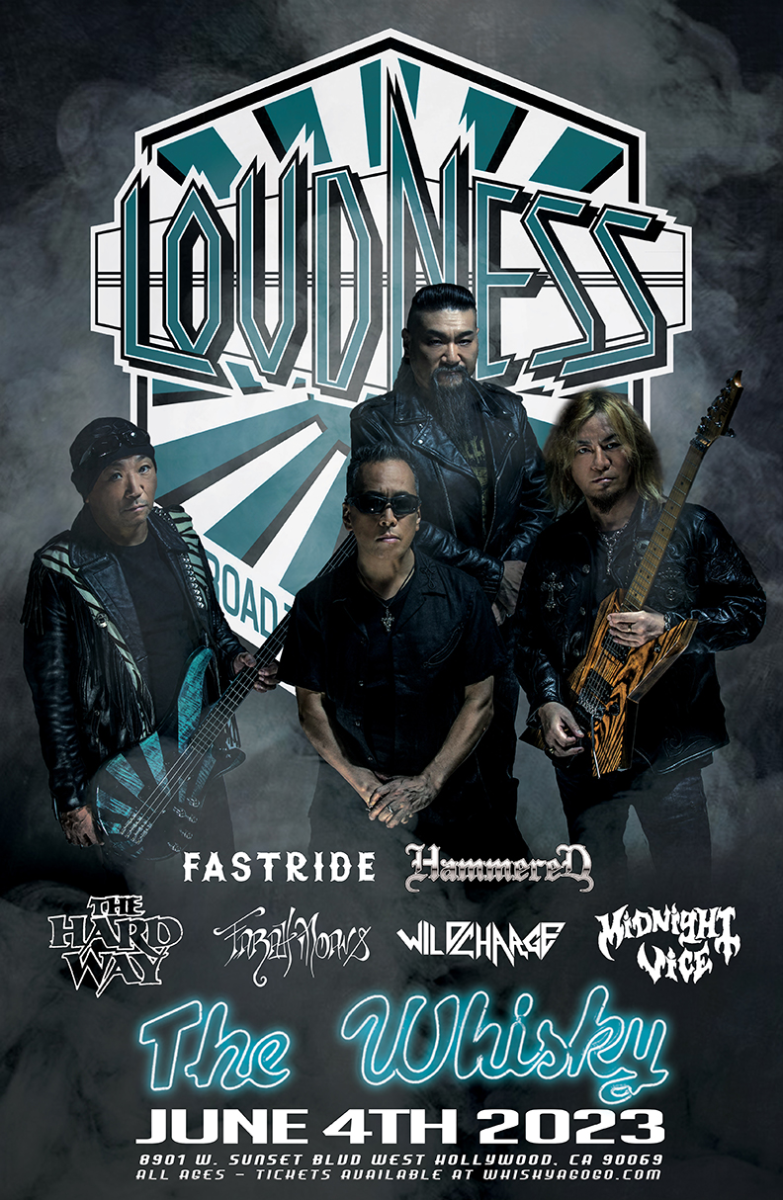 Loudness, Angeles, Hammered