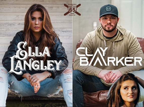 Ella Langley & Clay Barker w/ Julia Tamburello at Zydeco