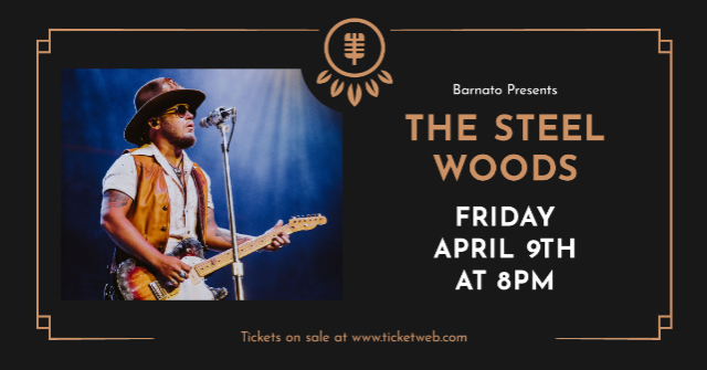 THE STEEL WOODS w/ special guests Wasted Highway...presented by JSP Productions