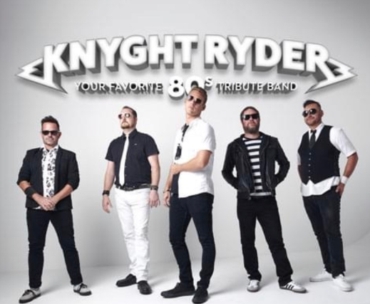 80's with Knyght Ryder - Outdoor Dining & Live Music