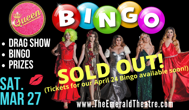 Image used with permission from Ticketmaster | Drag Queen Bingo tickets