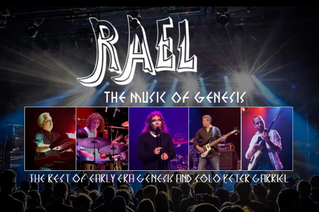 RAEL - The Music of Genesis - LIMITED AUDIENCE + LIVE STREAM at Daryl's House Club