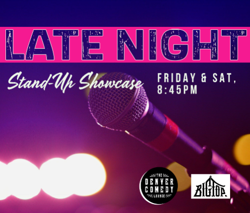 Late Night Stand-Up at Denver Comedy Lounge