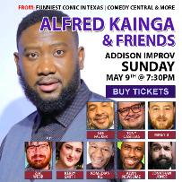 Alfred Kainga and friends
