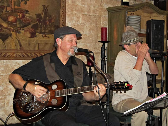 Live Blues with Papa J and Richard at Gallagher's Pub HB