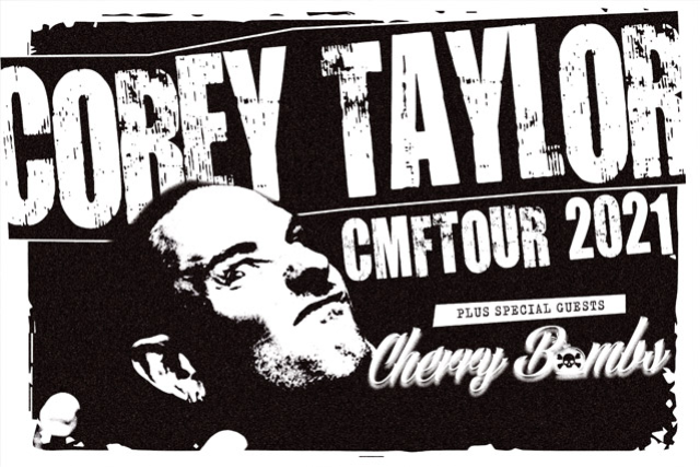 Corey Taylor - CMFT Tour 2021 at Pop's Concert Venue