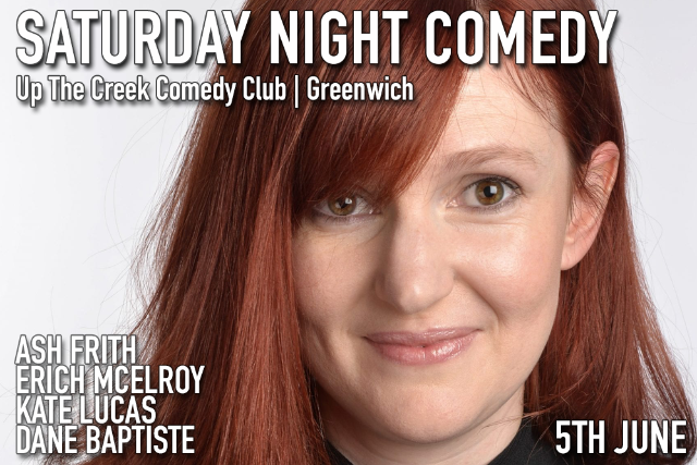 Saturday Night Comedy Sat 05 Jun