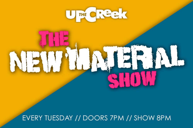 The New Material Night Tue 10 Aug