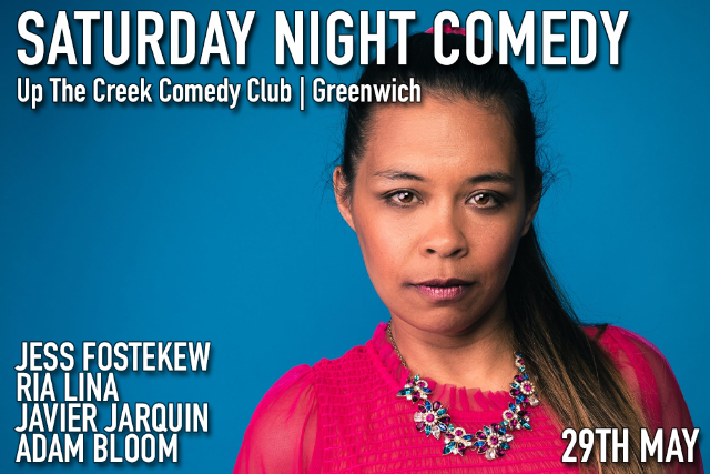 Saturday Night Comedy Sat 29 May