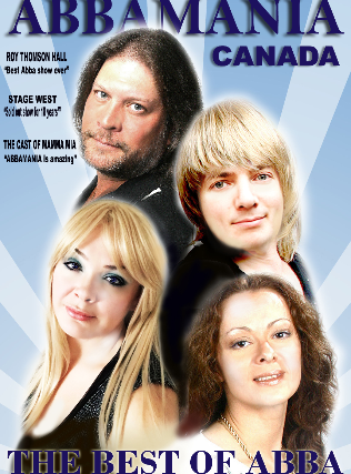 Image used with permission from Ticketmaster   AbbaMania - In Support of Diabetes Canada tickets