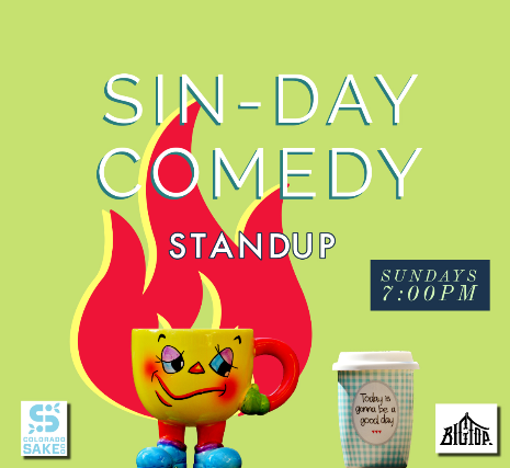 SIN-DAY Comedy Show at Denver Comedy Lounge