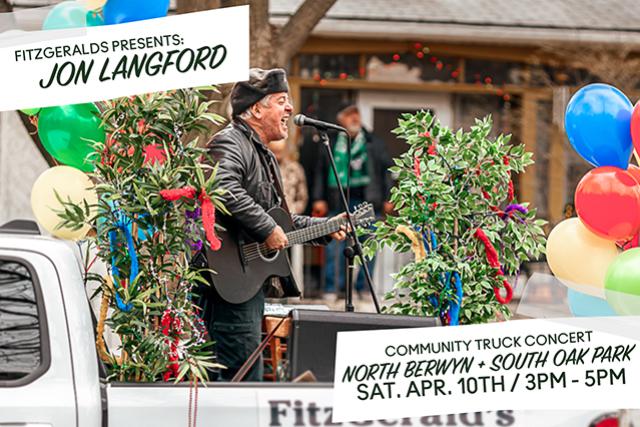 FITZGERALDS Community Truck Concert: Jon Langford