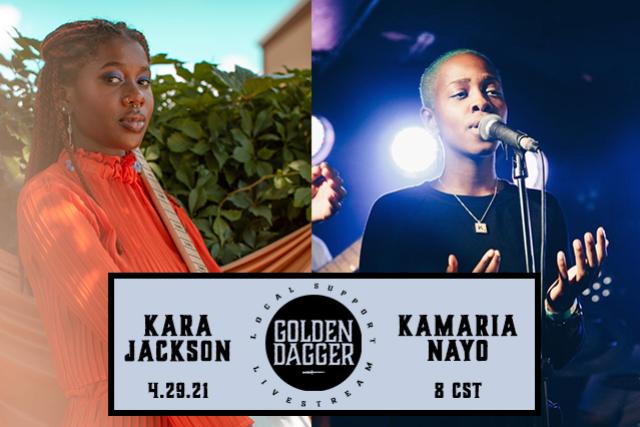 LOCAL SUPPORT: Kara Jackson + Kamaria Nayo