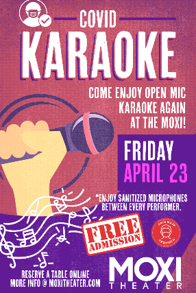 Karaoke Night at Moxi Theater