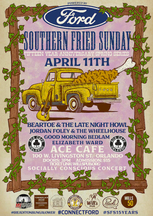 Southern Fried Sunday 15 Year Anniversary Spring Series sponsored by Ford Motor Company