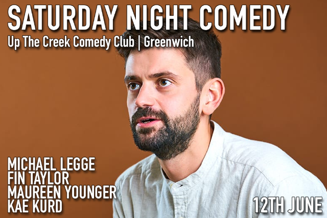 Saturday Night Comedy Sat 12 Jun
