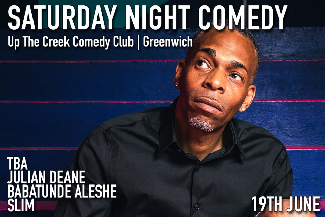 Saturday Night Comedy Sat 19 Jun