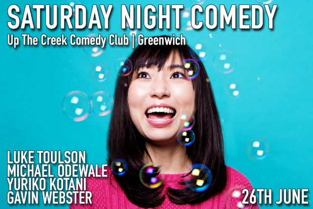Saturday Night Comedy Sat 26 Jun