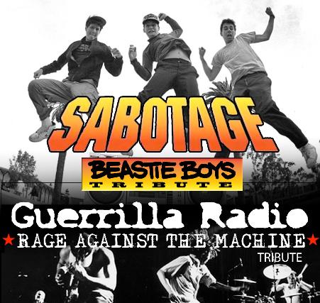 Guerrilla Radio / Sabotage at Moxi Theater