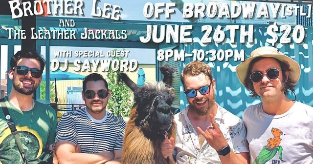 Brother Lee and The Leather Jackals RETURN to OB