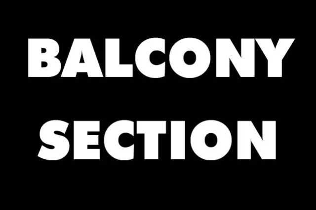 BlessedBeThyName BALCONY SECTION at Marquee Theatre