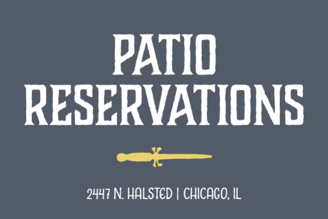 Patio Reservations