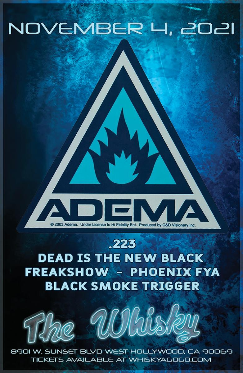 ADEMA, .223, Dead is the New Black, Freakshow, Phoenix Fya, Black Smoke Trigger