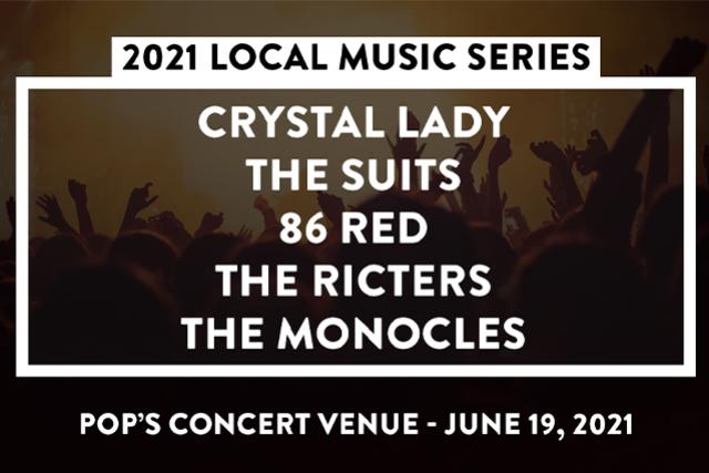 2021 Local Music Series at Pop's Concert Venue