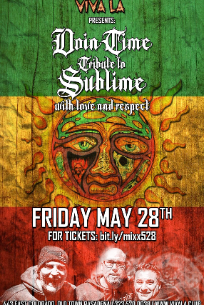 Sublime Tribute Night with Doin' Time at The Mixx