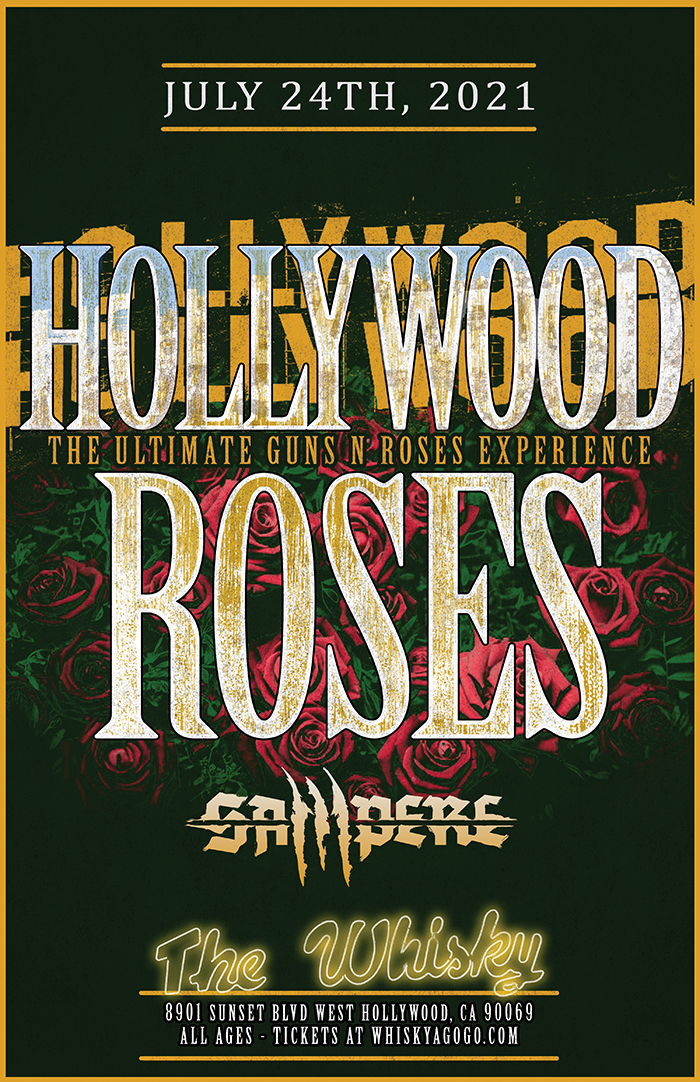 Hollywood Roses (The Ultimate Guns N' Roses Experience), Sampere, Stang, Sik Sik Sicks, The Borrowers, Kanaka