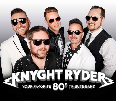 80's with Knyght Ryder - Dining & Live Music