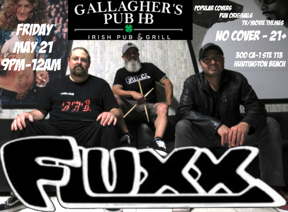 Fluxx (Eighties Covers) at Gallagher's Pub HB