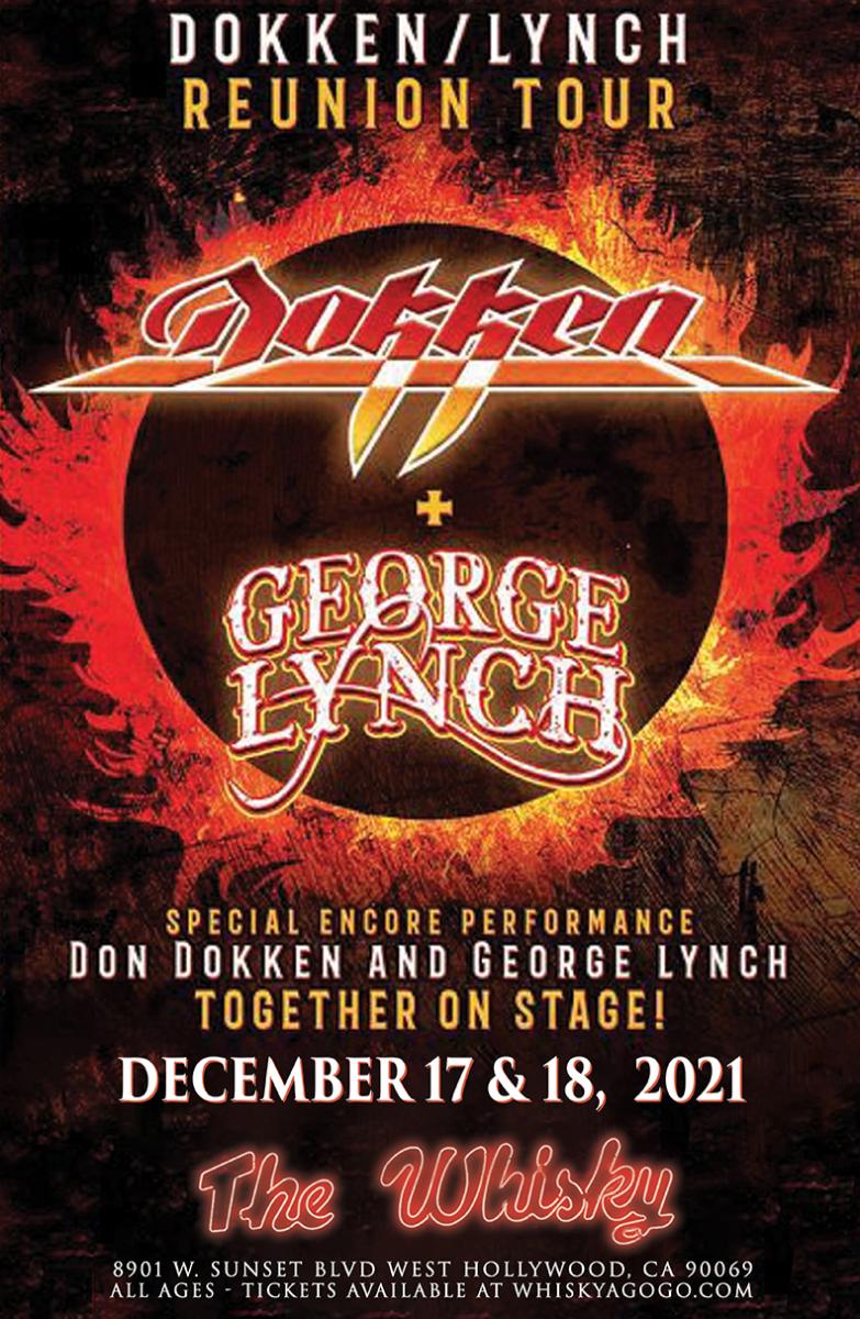 Dokken, George Lynch, Prima Donna Rising, D-Day Inc.