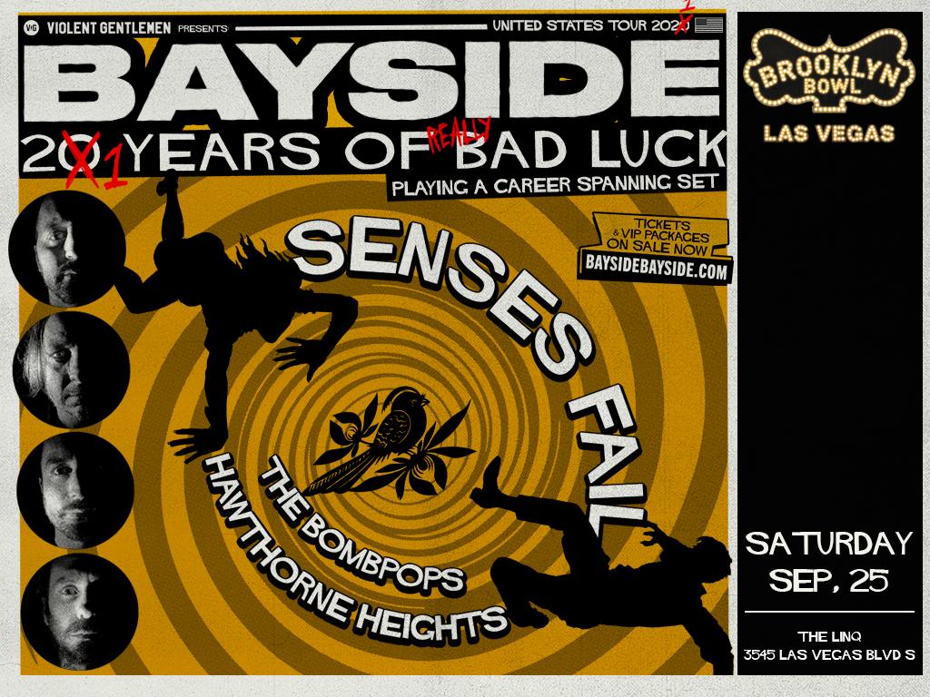 Bayside - 21 Years of Really Bad Luck