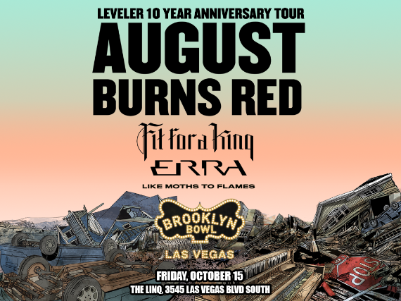 More Info for August Burns Red Presents Leveler 10 Year Anniversary Tour