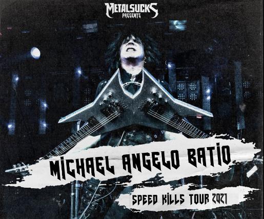 Michael Angelo Batio: Speed Kills Tour in Portland