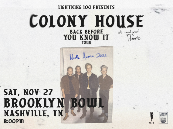 More Info for Colony House