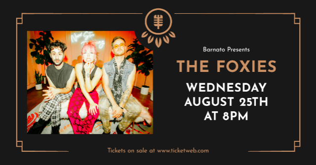 The FOXIES...presented by JSP Productions at Barnato