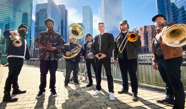 Lowdown Brass Band at FitzGerald's