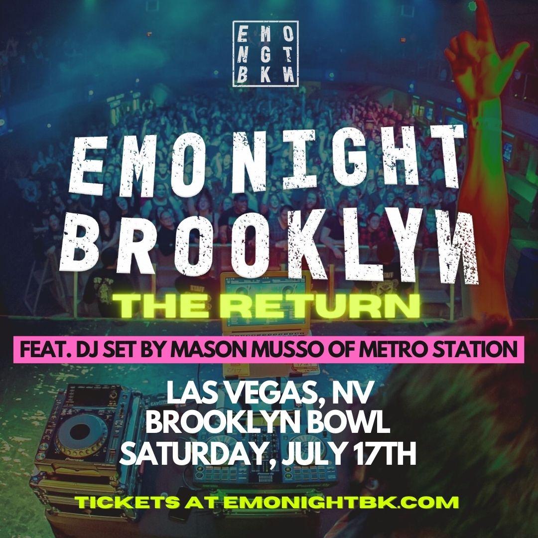 Emo Night Brooklyn - The Return