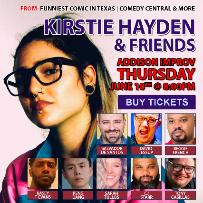 KIRSTIE HAYDEN AND FRIENDS