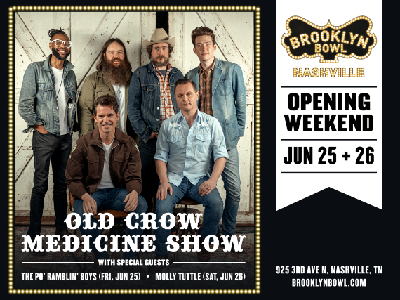 More Info for Old Crow Medicine Show