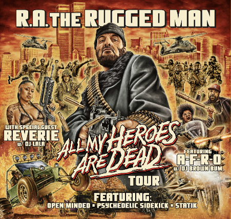 R.A. The Rugged Man - All My Heroes Are Dead Tour at Barnato